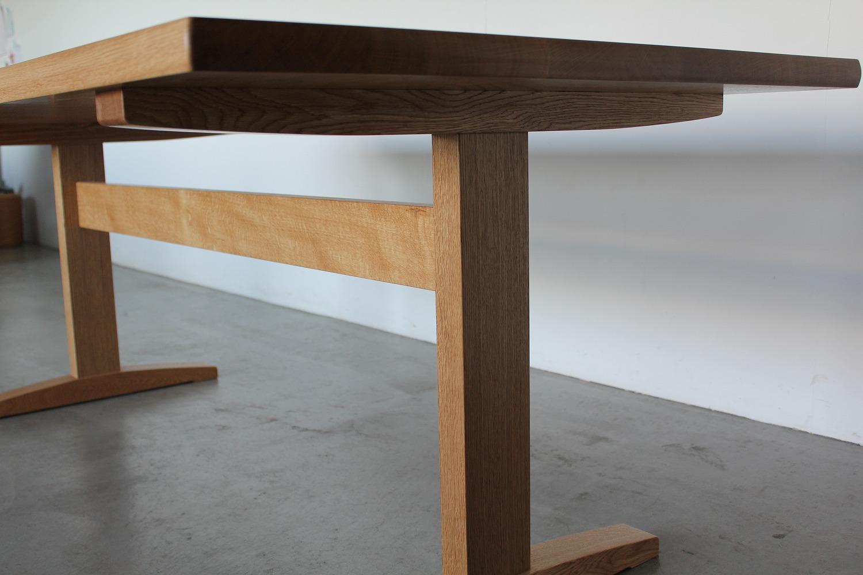 ナラのテーブル/脚部分
